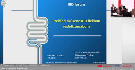 Diskusia z prednáškového bloku o ulceróznej kolitíde