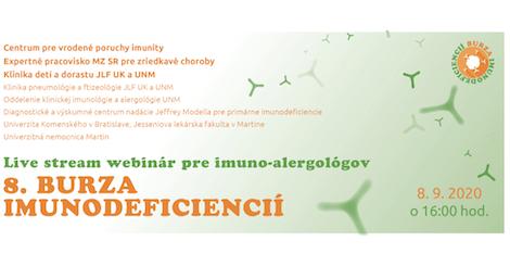 8. Burza imunodeficiencií